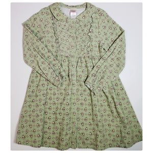 Gymboree Girl Detective Corduroy Dress Girls 6 EUC